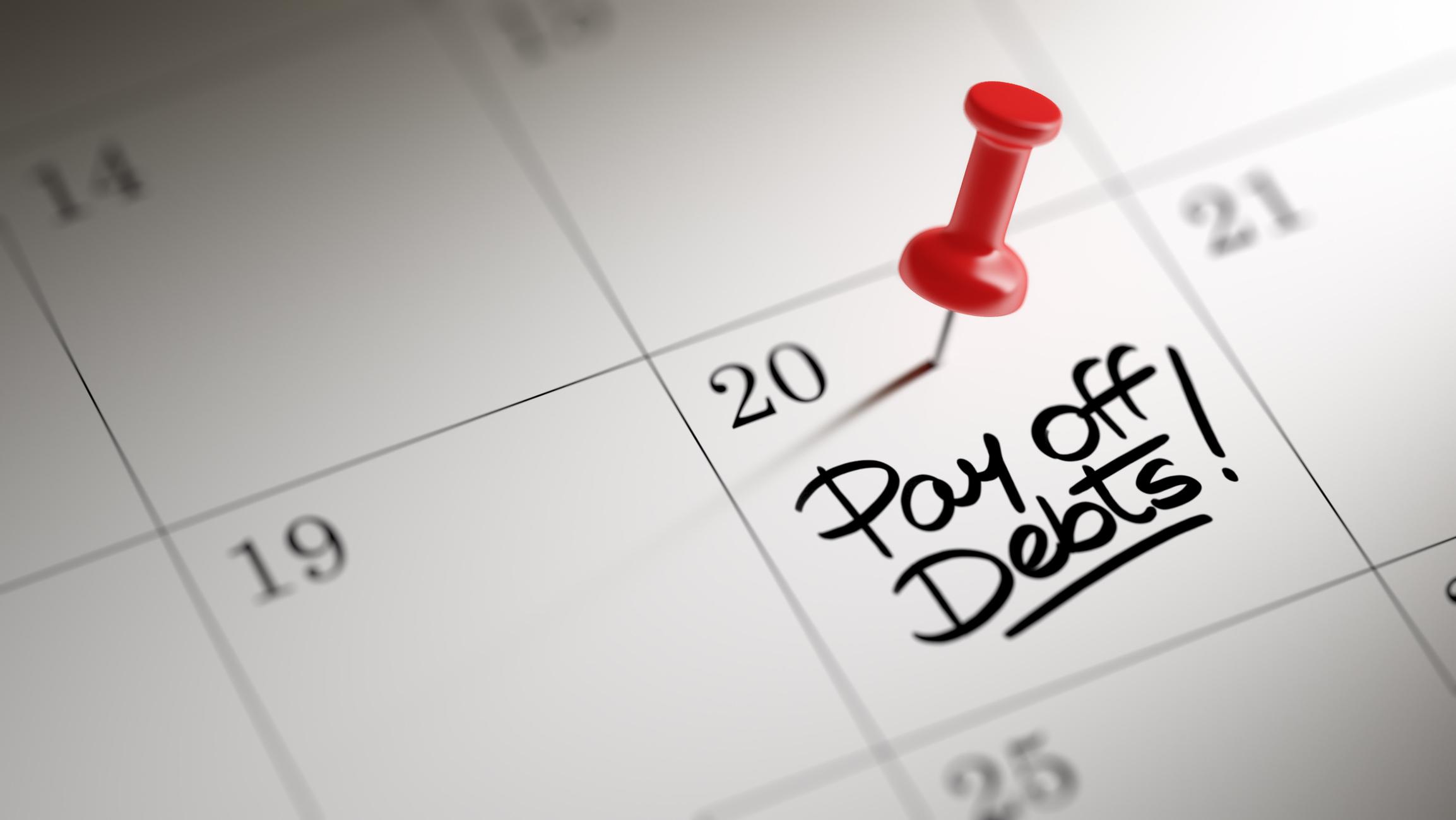 Betala gärna dina räkningar på en bestämd dag varje månad